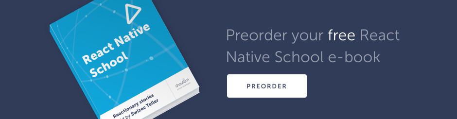 React Native School Book