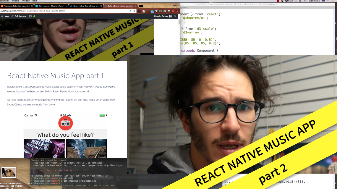 React Native SoundCloud streaming app tutorial - React